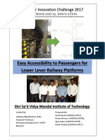 Easy Accessibility to Passengers for Lower Level Railway Platforms.