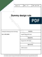Dummy Design Rule-D0.5