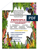 C. Principle 4 ASSESS