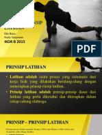 Prinsip-prinsip Latihan 1