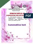B. Principle 2 d Summa