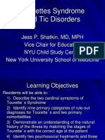 Cap Resources for Med Student Educators Tourettes Syndrome and Tic Disorders