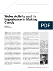 Wills1998 - Water Activity and Its Importance in Making Candy