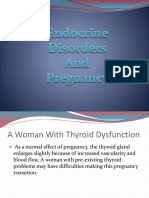 Endocrine Disorders and Pregnancy