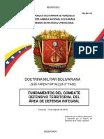 Fundamentos Del Combate Defensivo Territorial Del Adi (Ceo-mc-139)