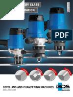 Plate Beveling Machine - BDS Maschinen GmbH