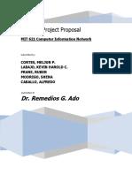 MELJUN CORTES NetworkProjectProposal TCU NETWORK
