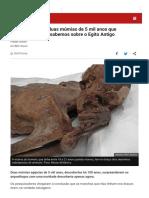 Múmias Bbc