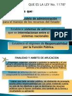 Resumen Ley 1178 SAFCO Bolivia