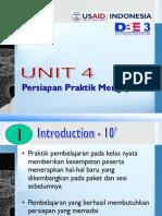 042009 DBE3 Unit 04 Persiapan & Praktik Mengajar PPT