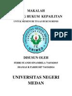 MAKALAH HUKUM KEPAILITAN.docx