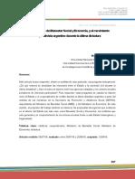 Los Ministerios de Bienestar Social y Economía y El Cooperativismo Durante La Última Dictadura