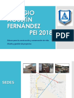 Colegio Agustín Fernández - Actualizacion 2018
