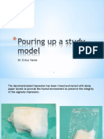 Lecture 3 - Pouring Up Models or Casts