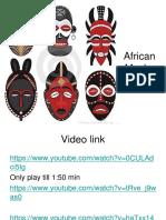 African Masks Moni