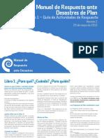 Manual de Respuesta a Desastres Naturales