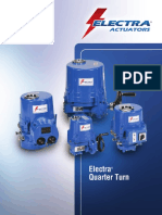 Electra Quarter Turn Actuators