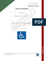 Modelo de Laudo Tcnico de Acessibilidade