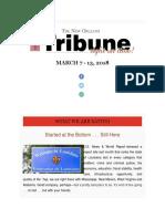 The New Orleans Tribune Newsletter