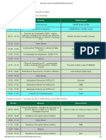 Programa evento CIGRE 2018