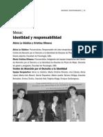 LOGIUDICE OLIVARES Identidad y Responsabilidad