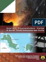 Content Analisis Pembentukan Harga Di Bursa Timah Indonesia Dan Dunia