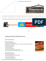 Massa de Pizza Pan (Pizza Hut) _ Máquina de Pão.pdf