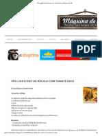 Pão Light_Diet de Rúcula com Tomate Seco _ Máquina de Pão.pdf