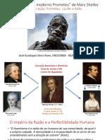 """""""Frankenstein, ou o moderno Prometeu"""" de Mary Shelley"""