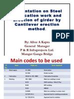 Presentation on Steel, Fabrication u0026 Erection Munger Ganga Bridge