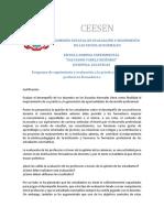 Programa de Seguimiento y Evaluación a La Práctica Docente de Profesores Formadores
