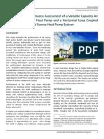 ASHP GSHP Technical Brief 2012