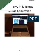 Laptop Conversion to Raspberry Pi
