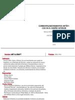 Pintado P_ Corrientes-Movimientos Artísticos_Diseño Interior