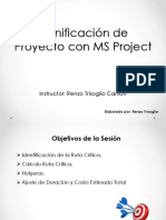 Planificación S3 - MS Project v1.0.ppt