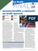 (20 Halaman) Microbial Keratitis a Community Eye Health Approach