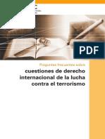 Cuestiones de Derecho Internacional de La Lucha Contra El Terrorismo UNODC