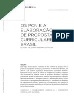 Os PCN e a Elaboração de Propostas Curriculares No Brasil