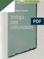 Castillo, Josema - Teologia Para Comunidades