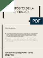 Propósito de La Operación