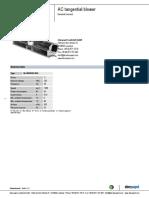 AC Tangential Blower QLZ0630303045 ENU