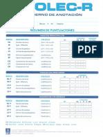 Cuaderno Anotación Prolec R