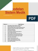 Pemodelan Sistem Medik