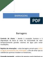 Barragens e Taludes
