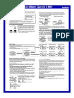 Manual Gshock Frogman (Qw3184)