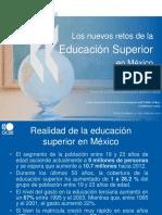 Los Nuevos Retos de La Educacion Superior en Mexico