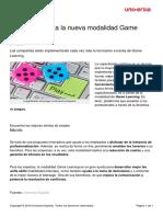Trata Nueva Modalidad Game Learning