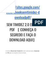 Sem Timidez 2.0 eBook (Download Em PDF)