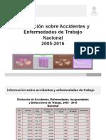 Nacional 2005-2016 stps accidentes