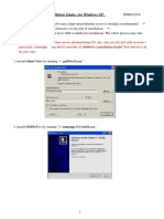 OMNeT++ Installation Guide - omnetpp3.3-winxp